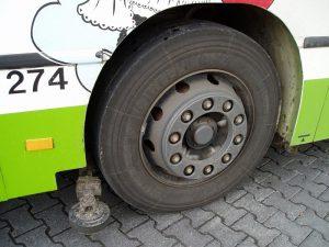 Резина автобуса