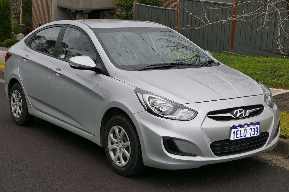 Размеры шин Hyundai Solaris - Таблицы размеров