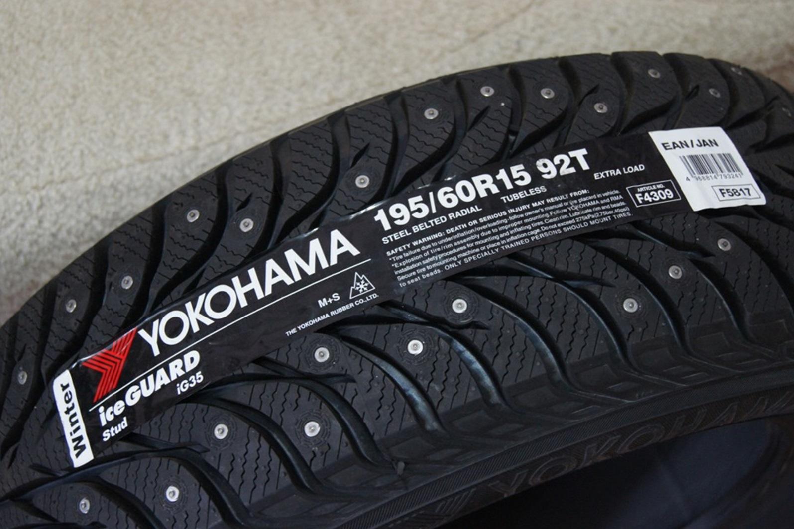 Шина Yokohama