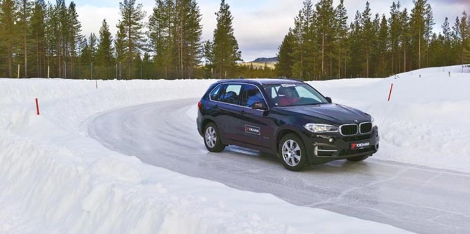 Установленные на BMW X5 покрышки 195 65 r15
