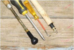 Самодельные инструменты для замены вентиля