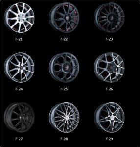 Популярные модели серии F