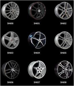 Популярные колеса серии SH