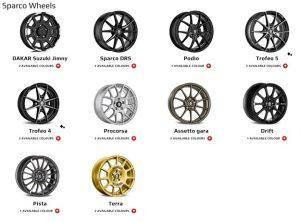 Линейка дисков Sparco Wheels