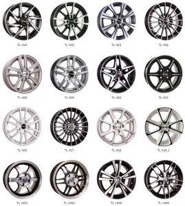 """Популярные модели колес Tech Line на 14"""""""